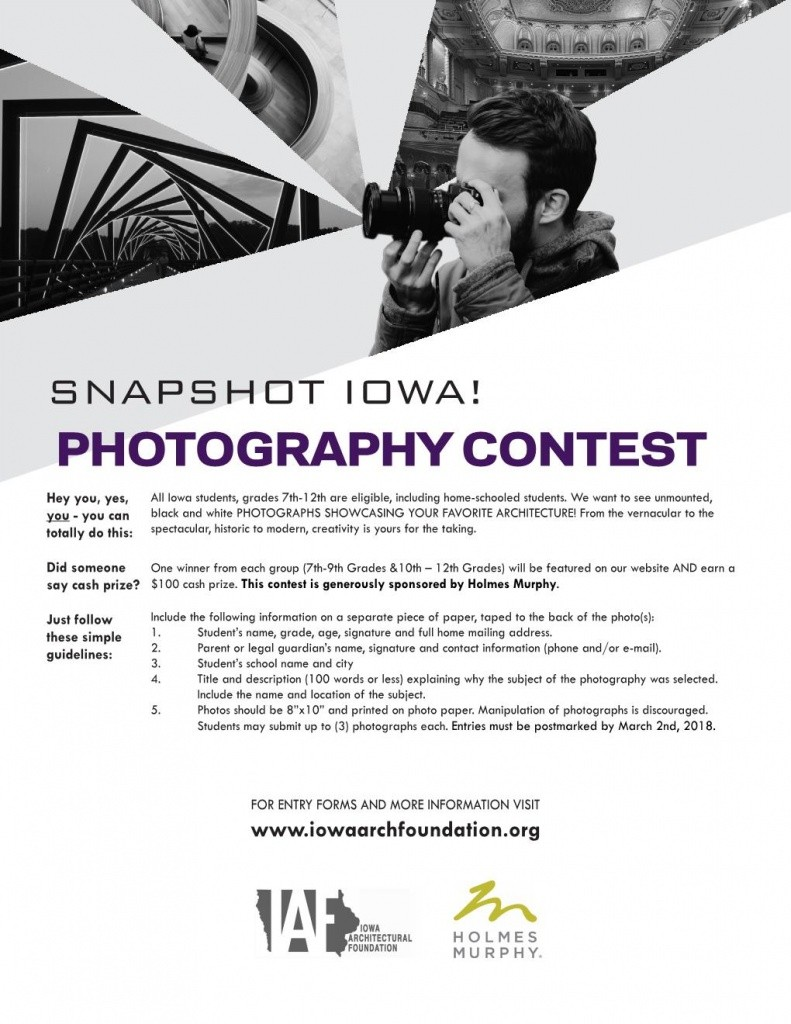 Snapshot Photography Contest - 11 x 8.5 color