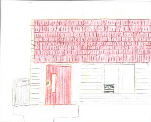 Architecture by Children Drawing Contest Winner, Northwest Region, 4-6: Alex Morley, O'Brien